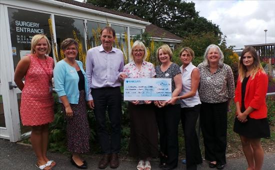 Cheque_Presentation_Cornwall_Hospice_Care_2014
